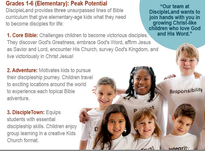 Complete children's ministry curriculum